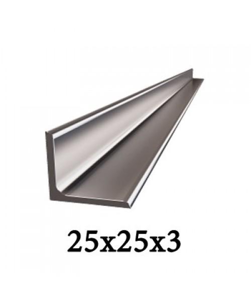 Уголок 25x25x3