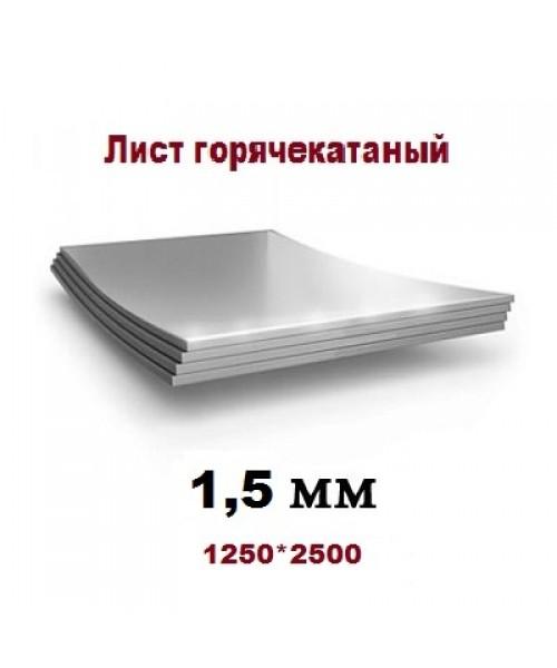 Лист 1,5х1250x2500